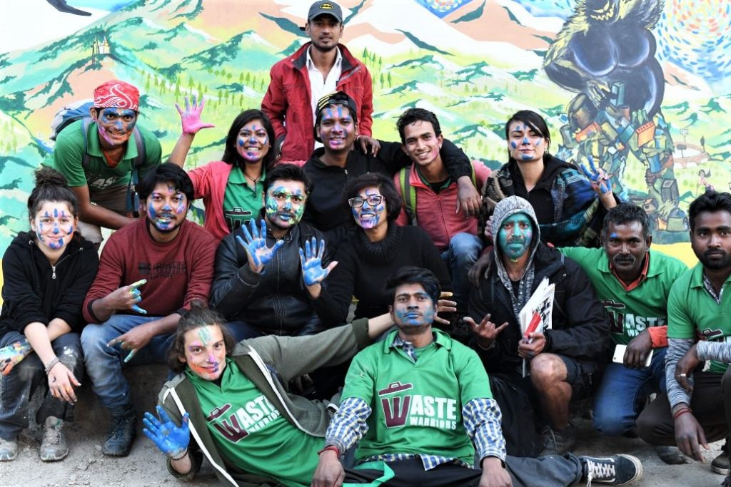 wicked-broz-and-waste-warriors-team-in-dharamshala