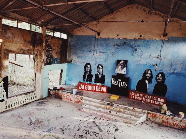 the beatles ashram rishikesh pan trinity das