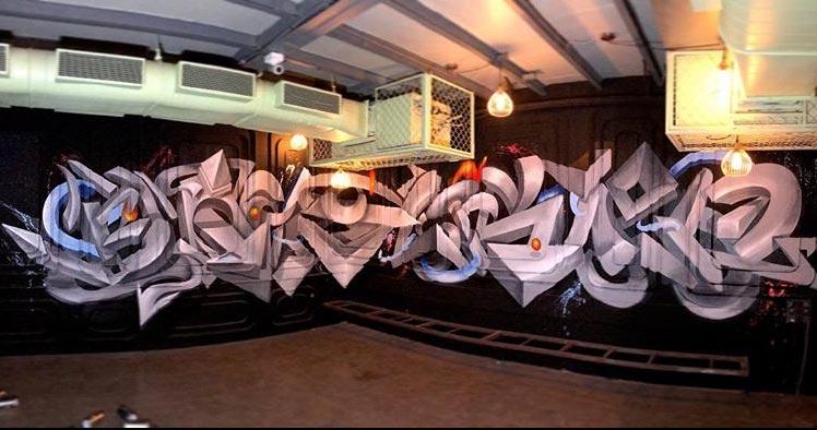 blacklisted-anamorphic-graffiti-zake-andheri-mumbai-restaurant-graffiti