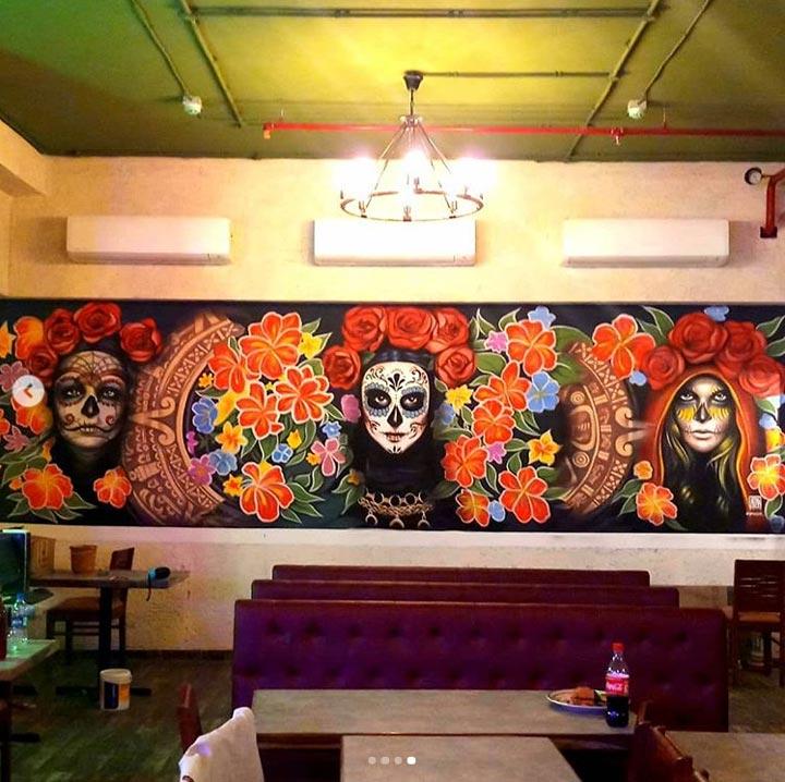 sammysosa-restaurant-graffiti-sugar-skulls-malad-mumbai-zake