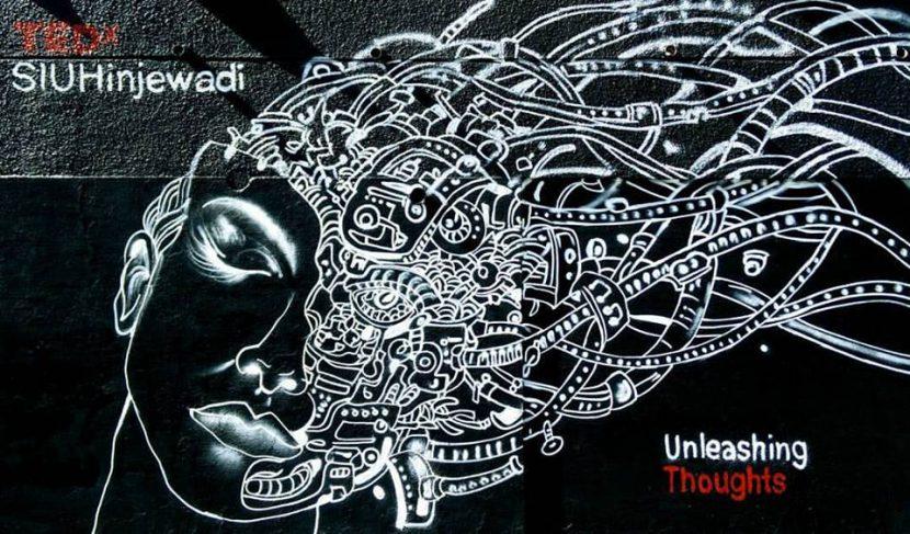 tedx siuhinjewadi shirin shaikh street art women