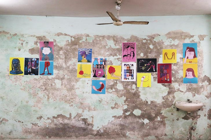 art-exhibition---ladies-first-street-art-festvial---marol-art-village