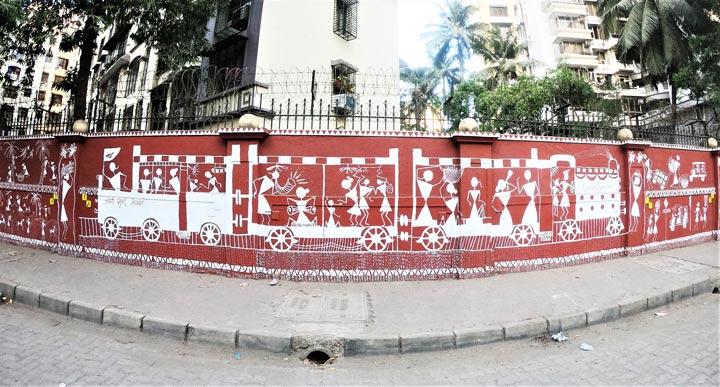 ashok-avenue---warli-art---marol-art-village