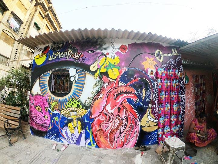 avantika-mathur---ladies-first-street-art---kateeleshwari-restaurant---marol-art-village