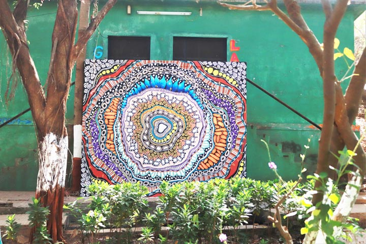 kesar-khinvasara---ladies-first-street-art-festvial---bharat-van---marol-art-village