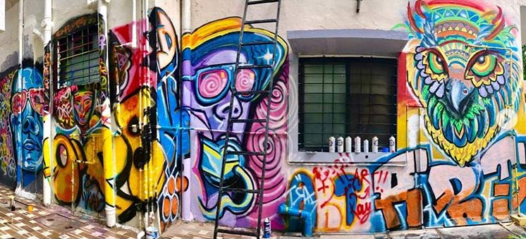open-art-school-pune street art