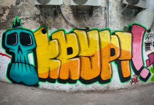 Piece by Krypt.One in Marol Art Village