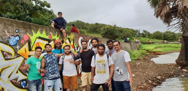 Omkar with DIS and T3K in Mumbai