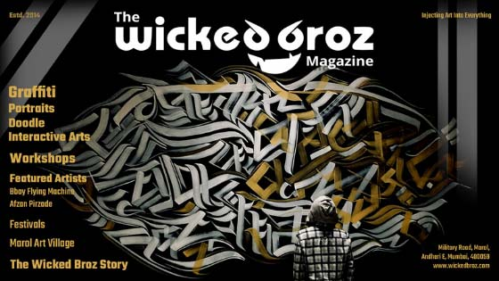 the wicked broz magazine cover